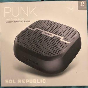 Bluetooth speaker by SOL REPUBLIC